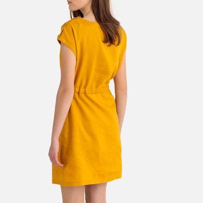 8432776197291b Rechte linnen jurk zonder mouwen LA REDOUTE COLLECTIONS