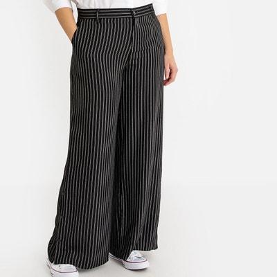 bab942ba7e4f89 Pantalon bootcut femme noir en solde   La Redoute