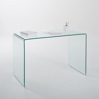 Bureau/console Joan in gehard glas Bureau/console Joan in gehard glas LA REDOUTE INTERIEURS