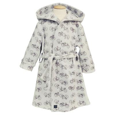 f727572d092fb Robe de chambre imprimée à capuche Robe de chambre imprimée à capuche SUCRE  D'ORGE