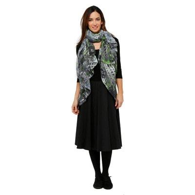 Foulard femme voile polyester Foulard femme voile polyester MADE IN SENS c5ab3825039