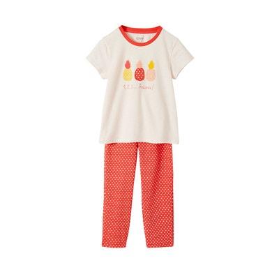 c73594f8b3ee4 Pyjama fille Ananas Pyjama fille Ananas VERTBAUDET