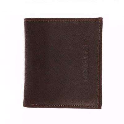 81178a44d9 Petit portefeuille européen 2 volets Arthur & Aston en cuir Petit  portefeuille européen 2 volets Arthur