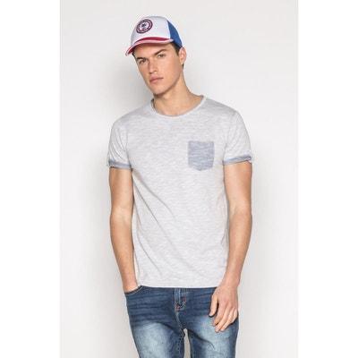 e861a49ef34 T-shirt texturé avec poche WYATT DEELUXE