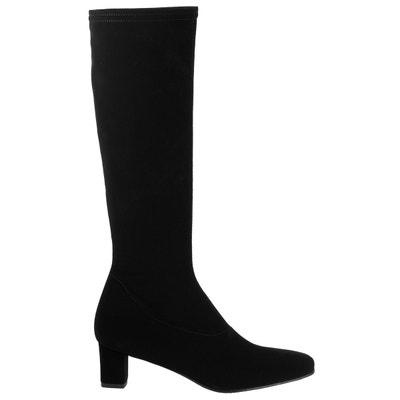 bottes chaussettes femmes cuir elizabeth stuart