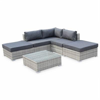 Ensemble meuble tv et table basse gris   La Redoute