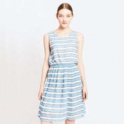 Gestreiftes Kleid, ärmellos Gestreiftes Kleid, ärmellos MIGLE+ME