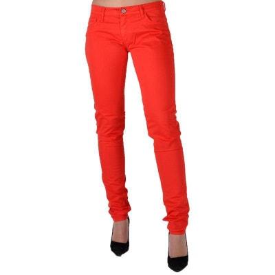 175a7a2276 Jeans JEA F 212 Basic Rouge LE TEMPS DES CERISES