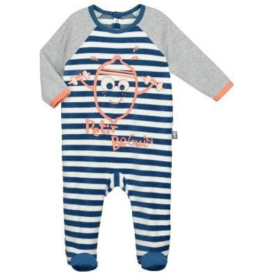 Pyjama bébé velours Milkshake Pyjama bébé velours Milkshake PETIT BEGUIN 7dff6280687
