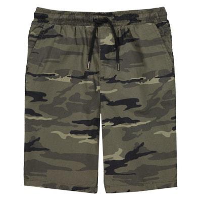 Bermuda imprimé camouflage 10-16 ans Bermuda imprimé camouflage 10-16 ans LA REDOUTE COLLECTIONS