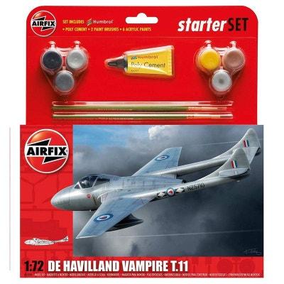 747df49ad8 Maquette avion   Starter Set   De Havilland Vampire T.11 AIRFIX