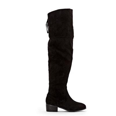 Hoge laarzen met rits, brede voet 38-45 Hoge laarzen met rits, brede voet 38-45 LA REDOUTE COLLECTIONS PLUS