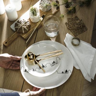 Set van 4 platte borden, MIWIN Set van 4 platte borden, MIWIN LA REDOUTE INTERIEURS
