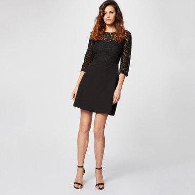 3539ec1d4a5 Платье короткое с рукавами и основной частью из кружева с открытой спинкой  Платье короткое с рукавами. Финальная цена