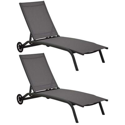 Chaise longue, transat en solde PROLOISIRS | La Redoute