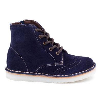 157097f4b1a09 Boni Léo - chaussure enfant en daim BONI SIDONIE