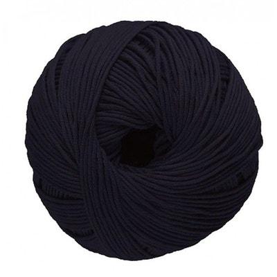 16f96b0fb9e3 Coton à Tricoter Natura De Dmc, Col. Noir 11 Coton à Tricoter Natura De