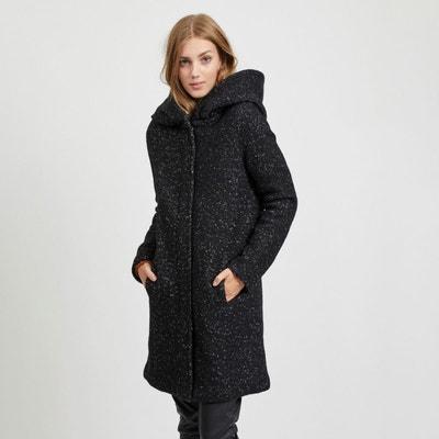 Manteau femme laine capuche | La Redoute