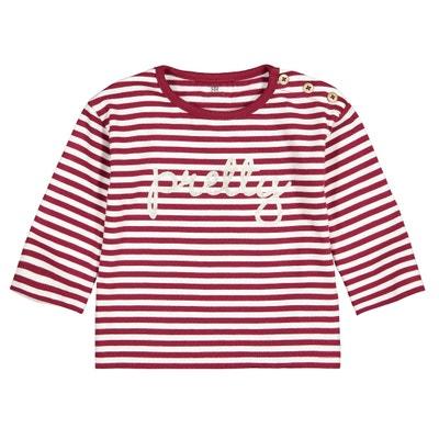 Gestreepte T-shirt met lange mouwen 1 mnd - 4 jaar Gestreepte T-shirt met lange mouwen 1 mnd - 4 jaar LA REDOUTE COLLECTIONS