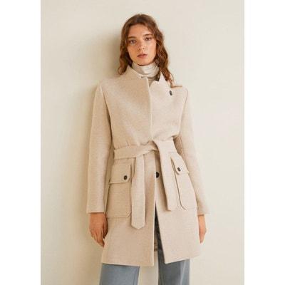 Manteau long ceinture femme en solde   La Redoute 5c6e832fade