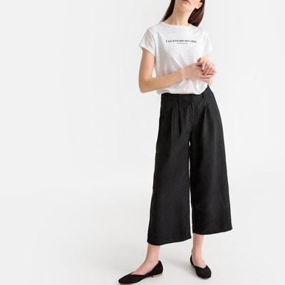 bc12d83c0 Falda pantalón ancha con talle alto