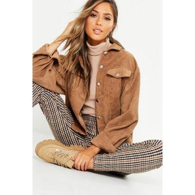 Veste velours camel femme | La Redoute