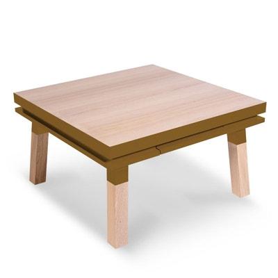 petite table basse carree la redoute