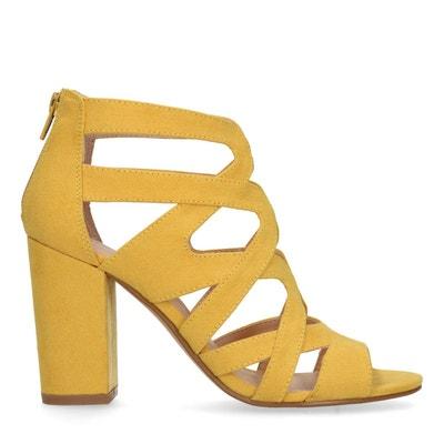 magasin remise chaude plusieurs couleurs Chaussures talon jaune | La Redoute