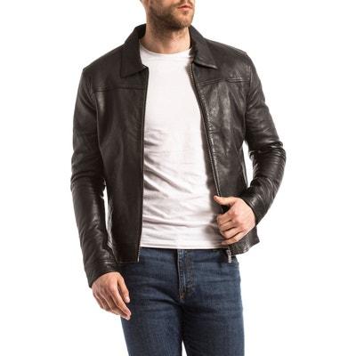 8c26bc2cd Blouson, veste en cuir homme | La Redoute