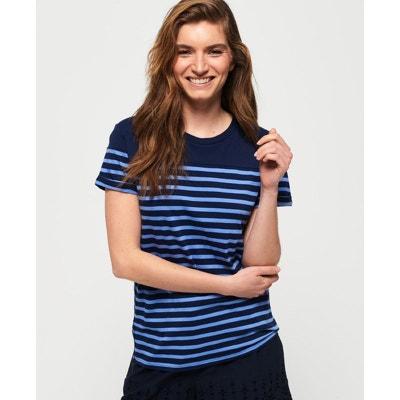 aeea8055268f5 T-shirt marinière Pop SUPERDRY