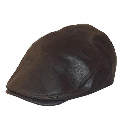 Casquette façon vieux cuir CHAPEAU-TENDANCE 80b22b5dbc1