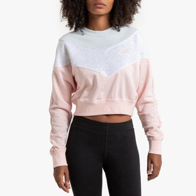 Korte sweater met ronde hals, tricolor Korte sweater met ronde hals, tricolor NIKE