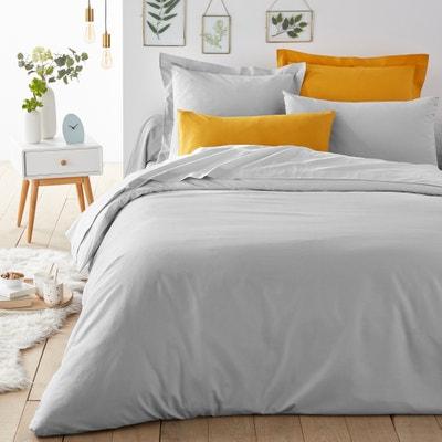 SCENARIO Plain Cotton Mix Duvet Cover LA REDOUTE INTERIEURS 729cd52c8