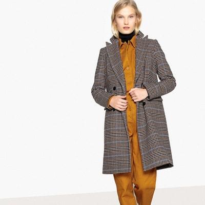af80d9aa8 Manteau laine camel femme | La Redoute