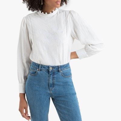 Blusas Blancas De Vestir La Redoute
