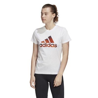 T shirt adidas blanc | La Redoute