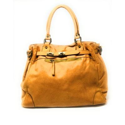 d4629bb651 Sac à main haut de gamme en cuir délavé Miss Jeanne OH MY BAG