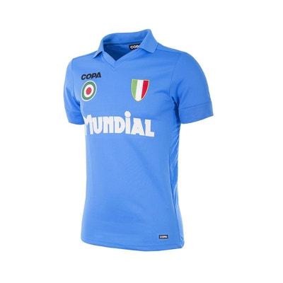 1714086455874 Maillot Rétro Napoli 1987 Bleu COPA