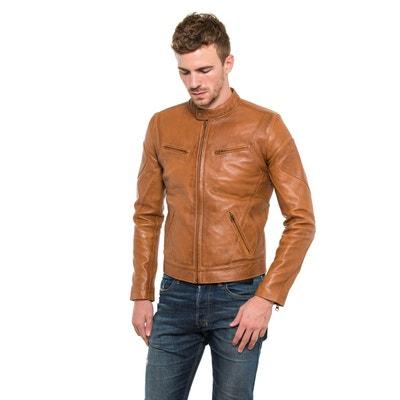 Blouson cuir homme vintage | La Redoute