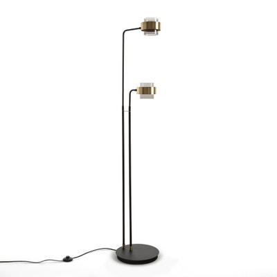 Staande lamp met armen, in glas en metaal, BOTELLO Staande lamp met armen, in glas en metaal, BOTELLO LA REDOUTE INTERIEURS