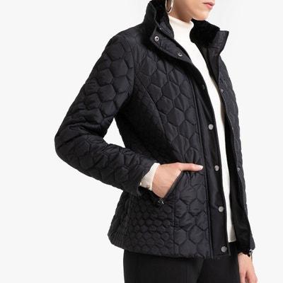 Manteau noir avec fermeture eclair | La Redoute