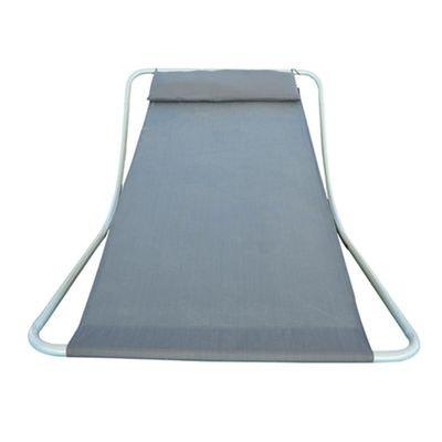 chaise longue transat homcom la redoute. Black Bedroom Furniture Sets. Home Design Ideas