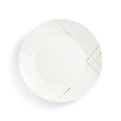 SOLAINE Set of 4 Dessert Plates SOLAINE Set of 4 Dessert Plates LA REDOUTE INTERIEURS