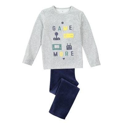 Brand new boys grey and yellow mix 100/% cotton long sleeved pyjamas