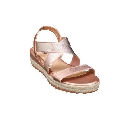 Sandale Compensee Compensee ElastiqueLa Redoute ElastiqueLa Sandale 3AR5Lq4j