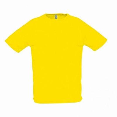 Tee Shirt Jaune Fluo Homme La Redoute