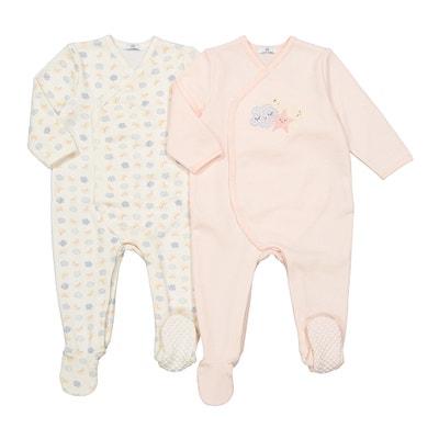 b71aa9756ee Lote de 2 pijamas prematuro-2 años LA REDOUTE COLLECTIONS