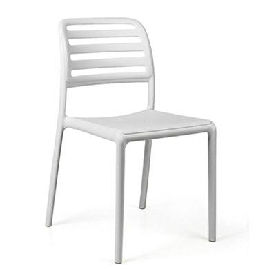chaise bistrot blanche en solde la redoute. Black Bedroom Furniture Sets. Home Design Ideas