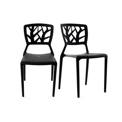 Chaises Design Empilables Interieur Exterieur Lot De 2 KATIA