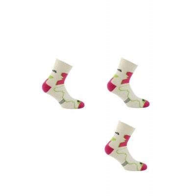 9f112b6ffe7e2 2 paires + 1 gratuite de Chaussettes DOUBLE TREK MID THYO